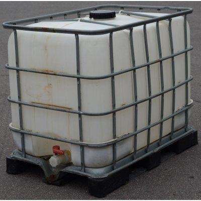 IBC nádrž 600L vypláchnutá 15cm II.jakost