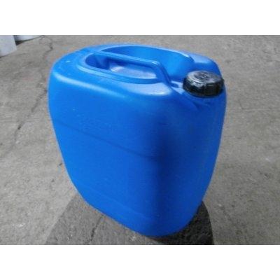 30L kanystr plastový, modrý, repasovaný