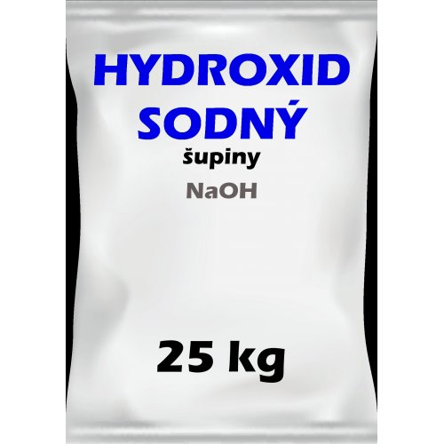 Hydroxid sodný šupinky 25kg
