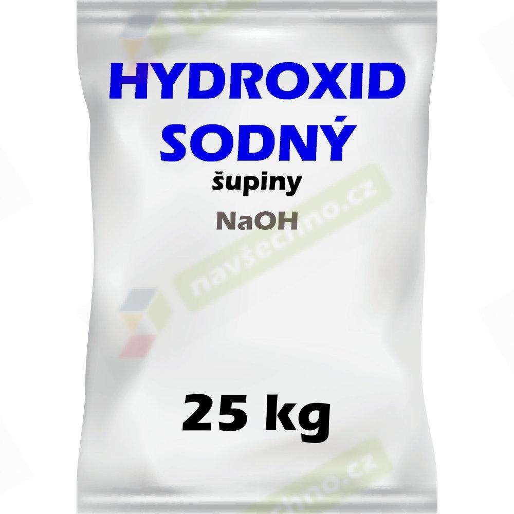 Hydroxid sodný šupinky