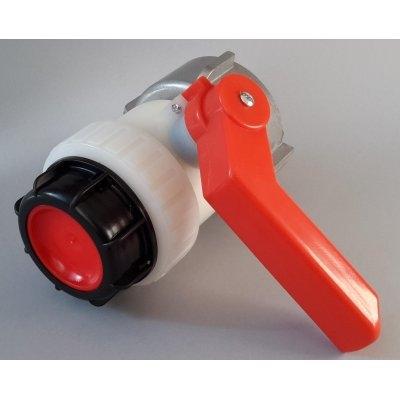 IBC kohout šroubovací 80mm / DN 50 hrubý zavit S60x6