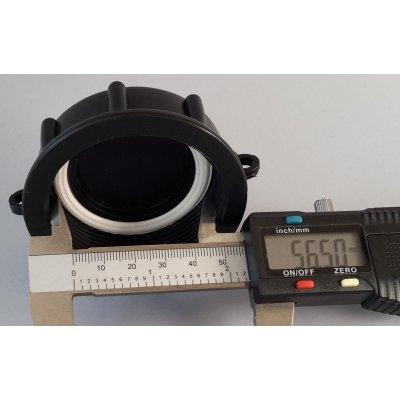 Víčko A na IBC nádrže DN 50 - 5 závitů jemný 56.5mm