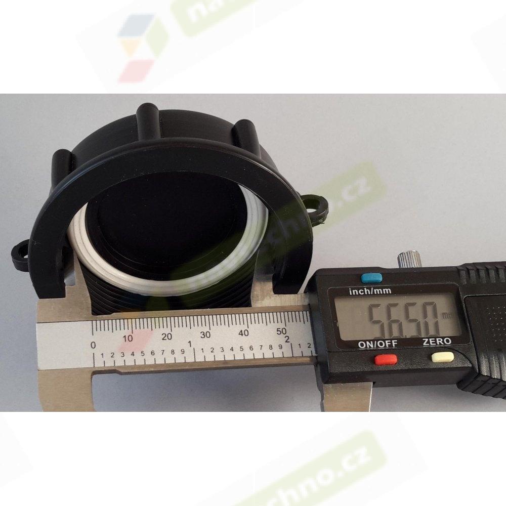 Víčko na IBC nádrže DN 50 - 5 závitů jemný 56.5mm