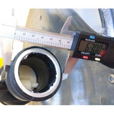 Víčko na IBC nádrže DN 50 camlock s jemnými 3 závity 61mm