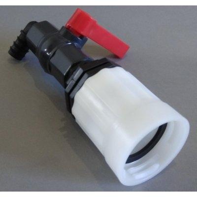 """IBC redukce z DN50 ( S60x6 ) na zahradní plastový kohout 1 """""""