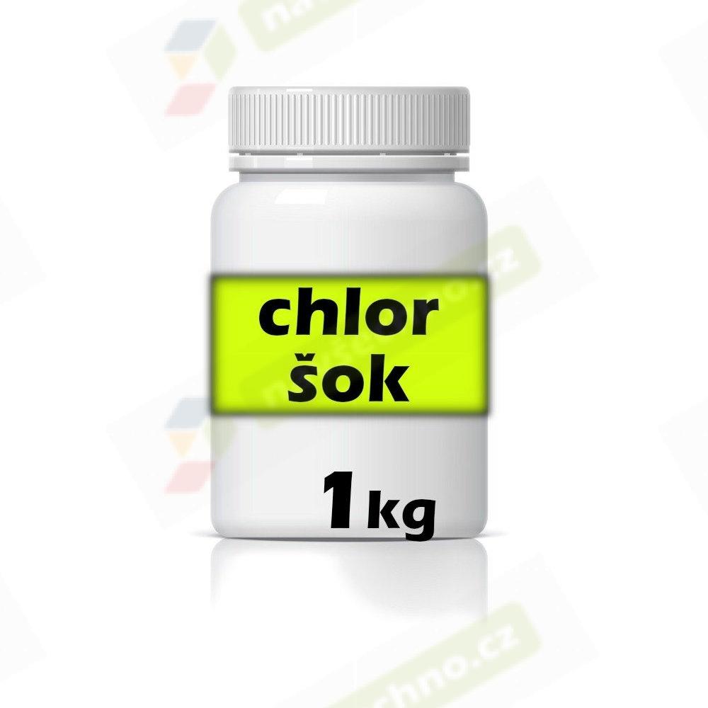 bazénová chemie NAVŠECHNO - chlor šok