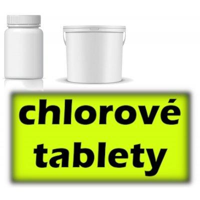 chlorové tablety