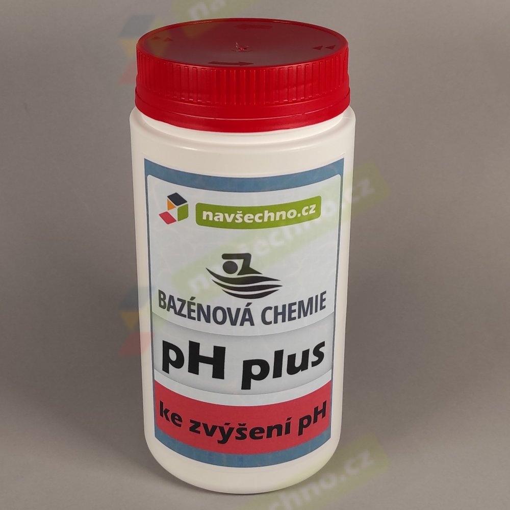 bazénová chemie NAVŠECHNO - pH plus