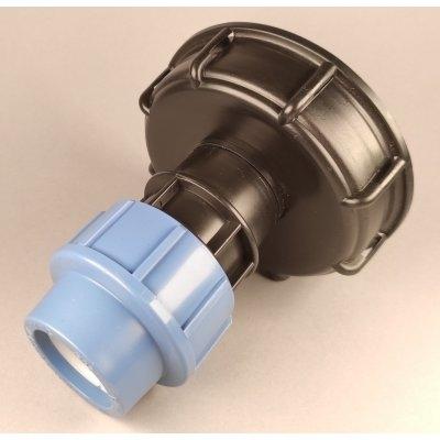 IBC redukce S100x8 na kompresní spojku 32mm