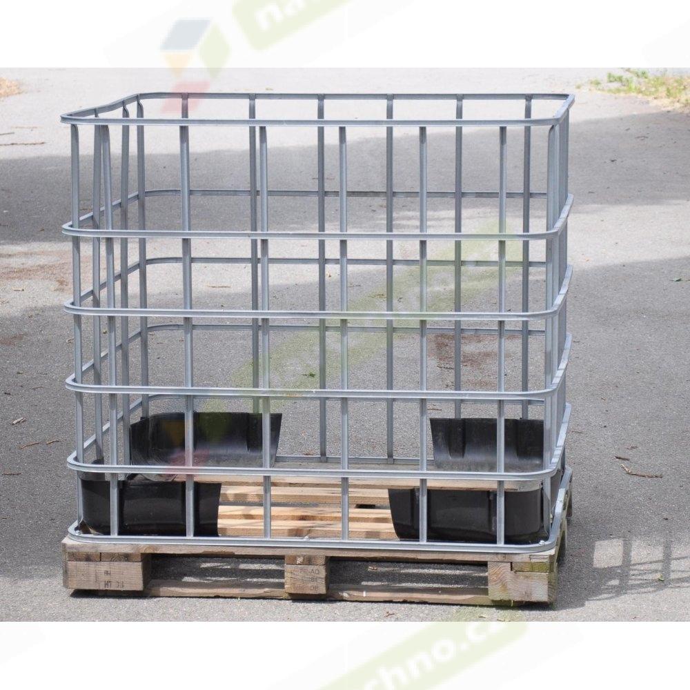 IBC klec pro 1000L nádobu dřevěná paleta