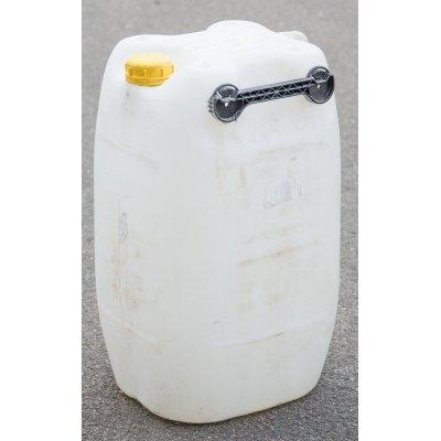 60L kanystr plastový, natur, vypláchnutý 2.jakost