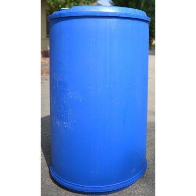 sud plastový 220L modrý na kapaliny | www.nadrze.navsechno.cz